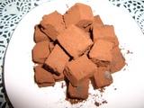 生チョコレートの完成