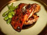 鶏の照り焼きの完成