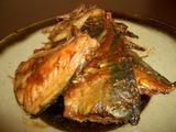 サバ味噌煮の完成