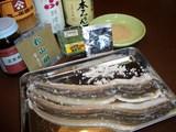煮アナゴの材料