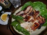 鶏もも肉の味噌漬け焼き(グリル)の完成