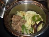 野菜蒸しの材料