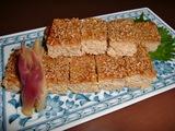 鶏肉の松風焼き(和風ミートローフ)の完成