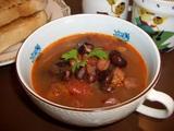 黒豆スープの完成