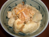 里芋の煮っ転がしの完成