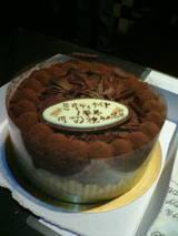 ミキナイ1周年ケーキ