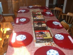 新春の食卓