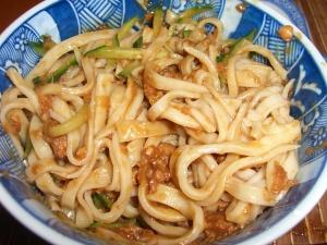 混ぜたジャージャー麺