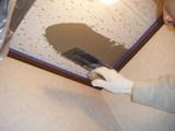 珪藻土塗りの前処理