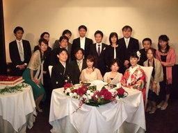 吉次家 結婚式 集合写真