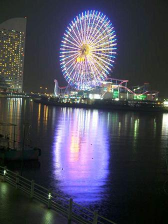 横浜・コスモワールドの観覧車です!