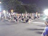 踊りフェスタ:農芸高校ラグビー部