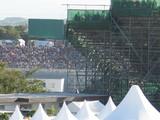 F1の観客席