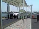 浜園旅客ターミナル・桟橋