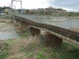 三岐鉄道北勢線の橋が