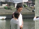 岩本輝雄さん(宮の渡し公園)