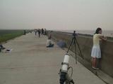皆既日食五分前@上海
