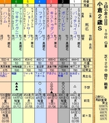 第17S:09月2週 小倉2歳S