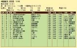 第19S:10月2週 毎日王冠 成績
