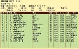 第19S:10月4週 菊花賞 成績