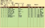 第34S:09月3週 京成杯AH 成績