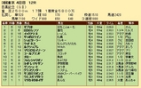 第28S:06月1週 目黒記念 成績