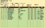 第22S:10月4週 菊花賞 成績