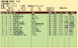 第21S:05月2週 京都新聞杯 成績
