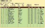 第28S:09月3週 セントウルS 成績