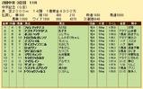第33S:03月3週 中京記念 成績