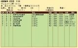 第30S:09月3週 ヴェルメイユ賞 成績