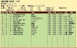 第32S:10月4週 菊花賞 成績