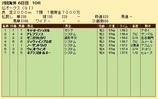 第28S:06月2週 仏オークス 成績