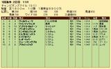 第33S:04月4週 チャンピオンズマイル 成績
