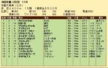 第31S:10月2週 京都大賞典 成績