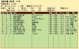 第30S:02月1週 京都牝馬S 成績