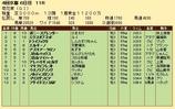 第31S:10月4週 菊花賞 成績