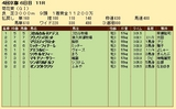 第24S:10月4週 菊花賞 成績
