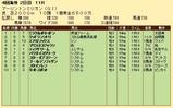 第27S:08月3週 アーリントンミリオン 成績