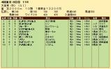 第21S:11月1週 天皇賞秋 成績
