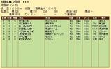 第34S:12月1週 京阪杯 成績