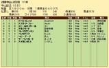 第28S:03月1週 中山記念 成績