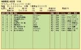 第17S:09月1週 サラブレッドチャレンジC 成績