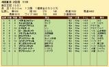 第34S:10月2週 毎日王冠 成績