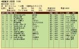 第32S:10月2週 毎日王冠 成績