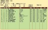 第35S:10月2週 毎日王冠 成績