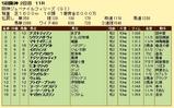 第17S:12月2週 阪神ジュベナイルフィリーズ 成績