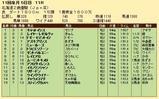 第33S:10月4週 北海道2歳優駿 成績