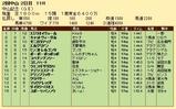 第30S:03月1週 中山記念 成績