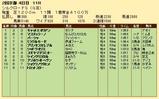 第24S:02月2週 シルクロードS 成績